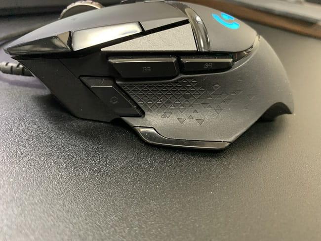 G502のサイドボタン