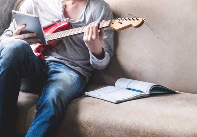 エレキギター初心者が失敗しない練習方法
