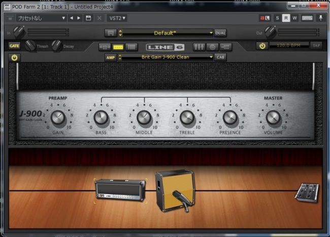 エレキギターの音作り ①:アンプの設定(クリーン)