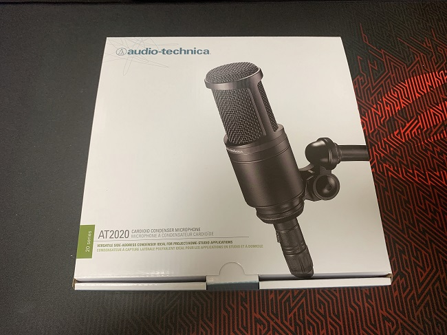audio-technica AT2020の外観