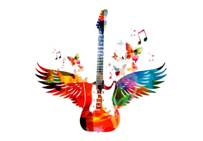 ギターの形状に囚われずに速弾きできるのがベスト