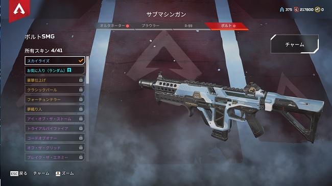 APEX初心者向けの武器②:ボルト
