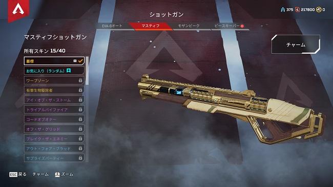 APEX初心者向けの武器④:マスティフ